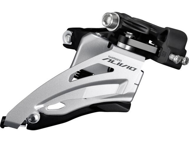 Shimano ALIVIO FD-M4020-B Desviador 2x9-velocidades Mid Cl. Side-Swing